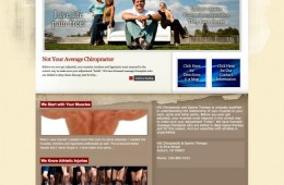 Hill Chiropractic Website Design