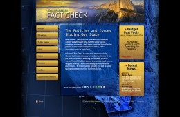 California Fact Check Website Design