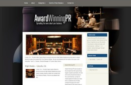 AwardWinningPR for Restaurants